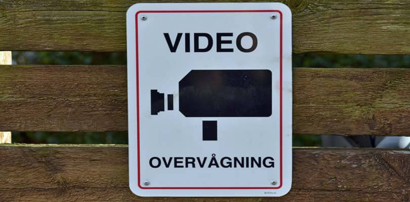 Videoovervågning og tyverialarmer