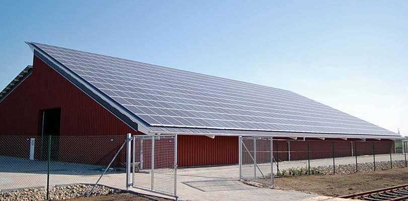 Solceller til virksomheder og institutioner